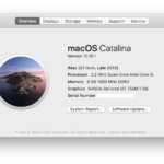 Complete list of Mac OS X & macOS versions |2020
